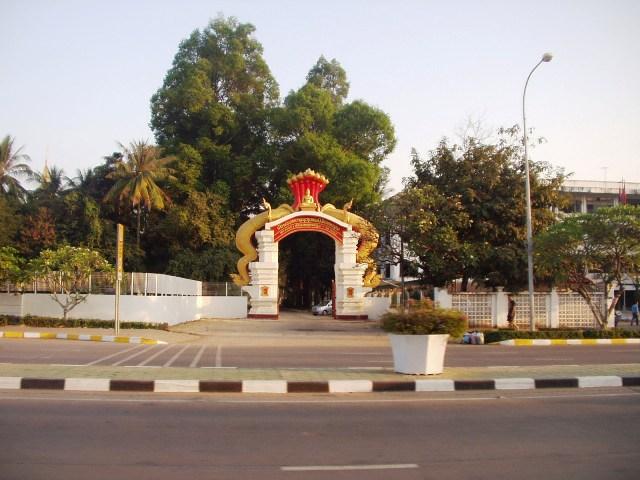 Đường phố Viên Chăn