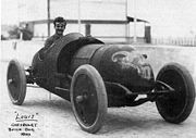 Luis Chevrolet lái Buick Bug tại Vanderbilt Cup 1910