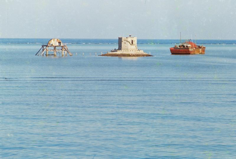 Đảo chìm 1988. Ảnh: Nguyễn Vinh Quang