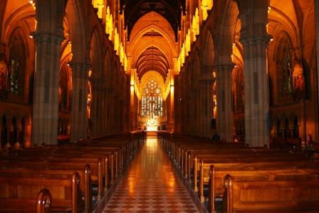 Saint Mary. Ảnh: Hiệu Minh
