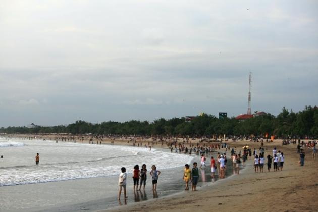 Chiều trên bãi biển