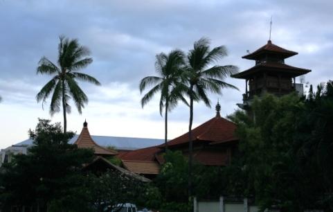 Một góc phố Bali