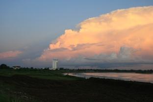 Chiều tà Mekong