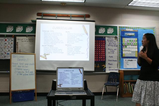 Chương trình học 2009. Lớp 1.