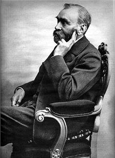 Alfred Nobel. Ảnh: WIKI.