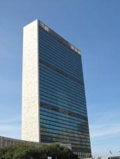UN building. Ảnh: HM
