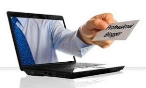 Blogger chuyên nghiệp. Ảnh: internet.