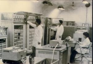 Các kỹ sư máy tính ODRA.