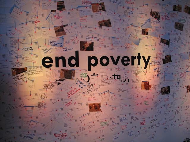 Kế thúc nghèo đói. Ảnh: HM