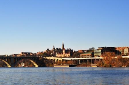 Georgetown bên sông Potomac