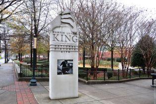 Khu tưởng niệm MLK. Ảnh: HM