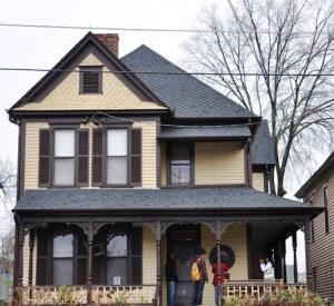 Ngôi nhà của Martin L. King. Ảnh: HM
