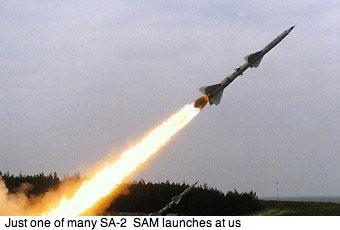 SAM 2 rời bệ phóng. Ảnh: internet