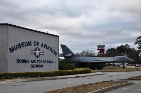 Triển lãm máy bay quân sự ở Georgia. Ảnh: HM