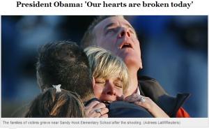Obama: Trái tim chúng ta đã tan vỡ.