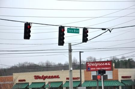Đại lộ Tara ở Clayton. Ảnh: HM