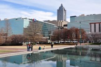 Một góc ở trung tâm Atlanta. Ảnh: HM