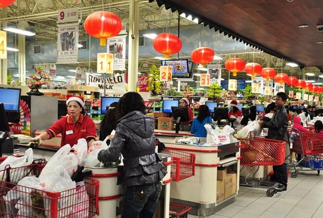 Chợ Hongkong của người Việt. Ảnh: HM