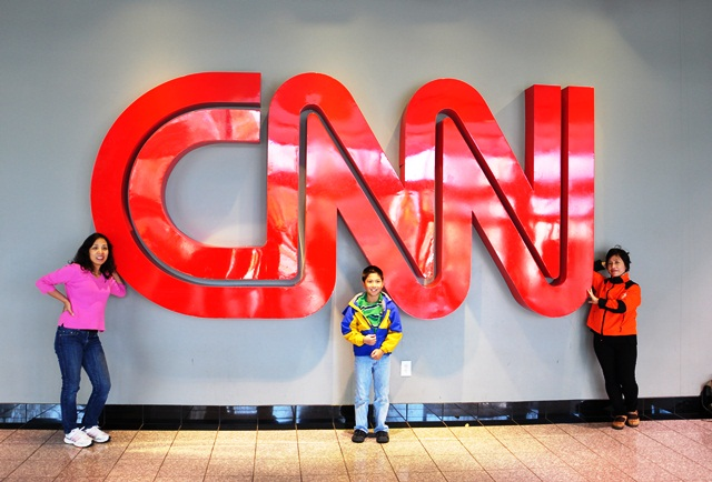 CNN Center. Ảnh: HM