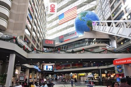Trong CNN Center. Ảnh: HM