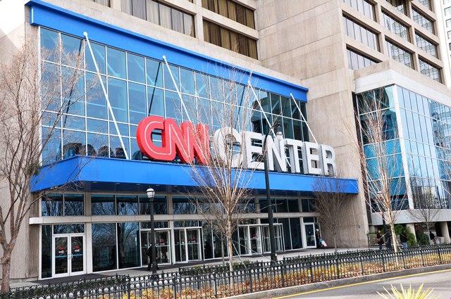 Đại bản doanh CNN. Ảnh: HM