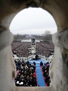 Vị trí trang trọng trên Capitol Hill. Ảnh: Washington Post.