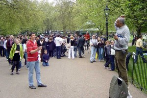 Speakers' Corner. Ảnh: Internet