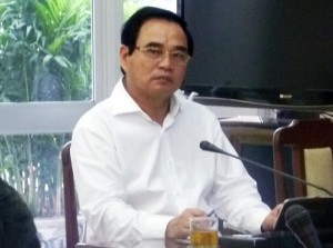 Chủ tịch UB Đà Nẵng Văn Hữu Chiến.