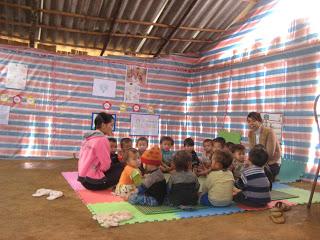 Trẻ em Mù Căng Chải. Ảnh: Thanh Chung Blog