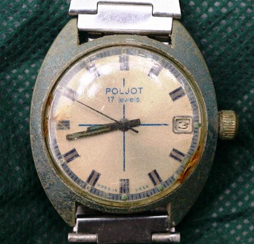 Đồng hồ 17 chân kính của Nhất Đình đi tán gái. Ảnh: Nhất Đình
