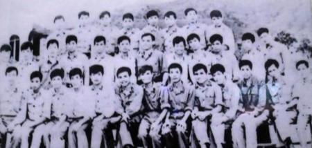 Tập thể chiến sỹ BP Pò Hèn (Quảng Ninh). Ảnh: tư liệu