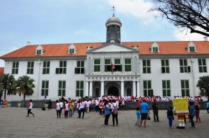 Bảo tàng Indonesia ở Batavia. Ảnh: HM