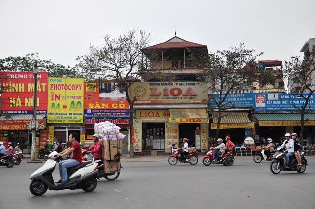 Đường Hoàng Quốc Việt. Ảnh: HM