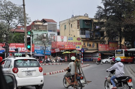 Đường Nguyễn Phong Sắc. Ảnh: HM
