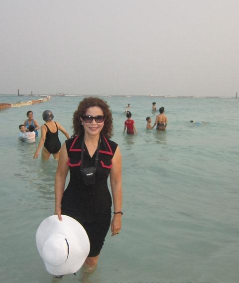 Bên bờ biển Pataya - KD Tắm...quần.