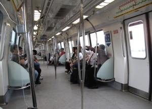 MRT của Singapore. Ảnh: HM