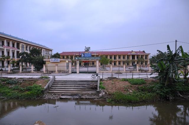 Nơi trường Lương Văn Tụy xưa. Ảnh: HM