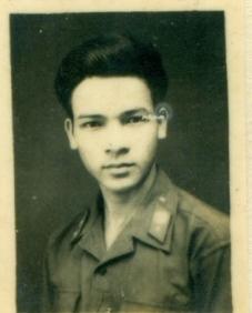 Người lính trẻ Ngô Văn My. Ảnh: Tư liệu gia đình