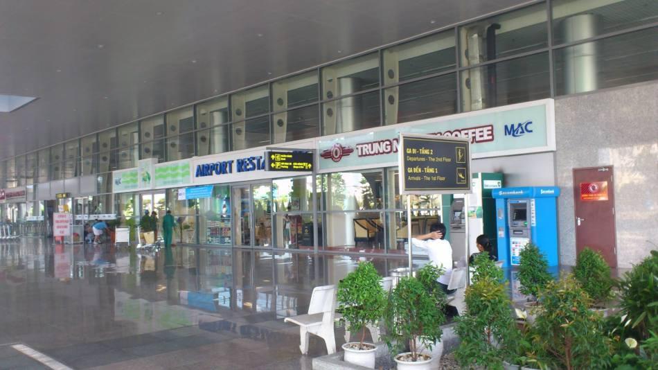 Sân bay Đà nẵng sạch và đẹp. Ảnh: Voi