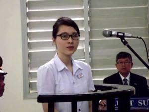 Phương Uyên 21 tuổi và bản án 6 năm tù