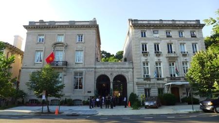 Ngôi nhà VN trên phố R. Ảnh: HM