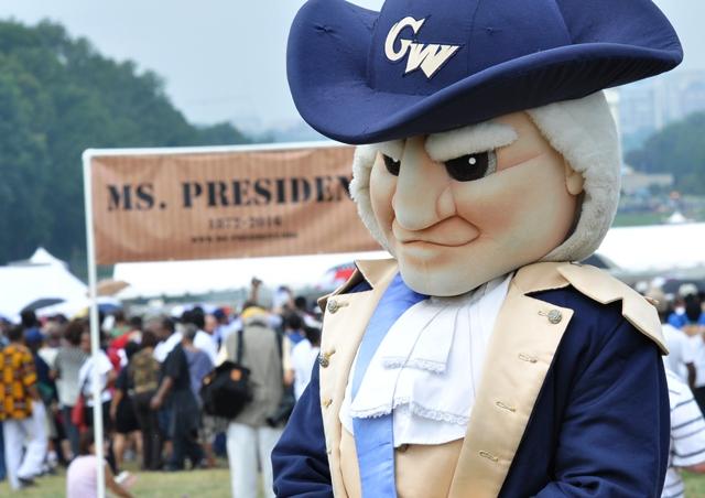 Tổng thống Gerge Washington. Ảnh: HM