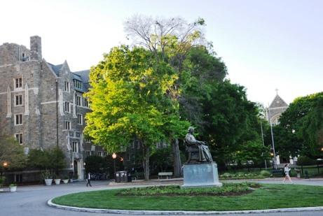 Đại học Georgetown ở DC. Ảnh: HM