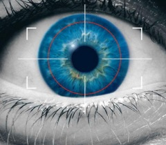 Iris Scanner - Quét vân mắt. Ảnh: Internet