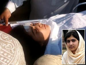 Malala Yousufzai bị thương. Ảnh: Internet