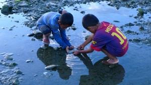 Tuổi thơ Timor Leste. Ảnh: HM
