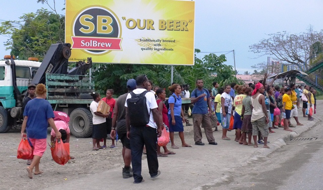 SB - Solomon Beer. Ảnh: HM
