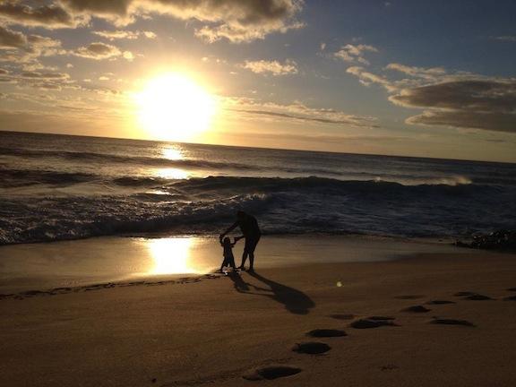 Biển Hawaii. Ảnh: Xang Hứng cung cấp