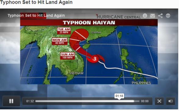 Haniyan đang tiến dọc bờ biển Đông