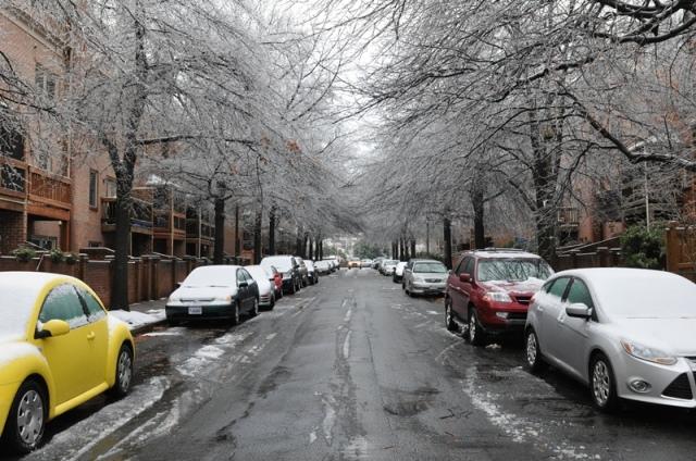 Icy Street. Ảnh: HM